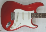 Fender Custom 60 Duotone Stratocaster relic CAR Candy Apple Red