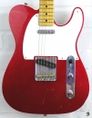 Fender Customshop 50 Telecaster Relic MN Candy Apple Red