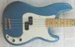 Fender Standard Precision Bass MN LPB Lake Placid Blue, gebraucht