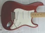 Fender American Standard Stratocaster MN, candy apple red, gebraucht